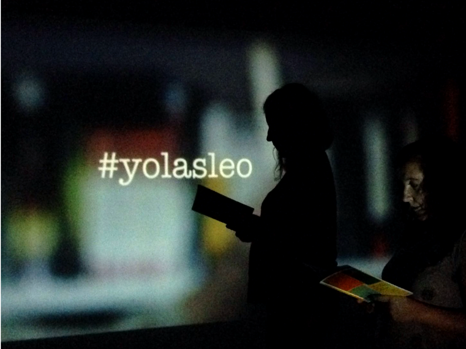 Cartel del documental #yolasleo.
