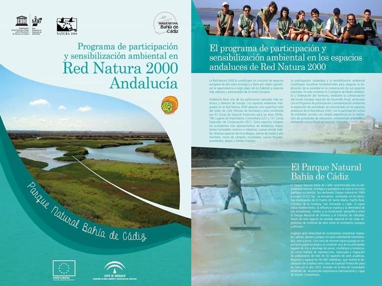 Publicidad del Programa de Participación y Sensibilización de la AAT.