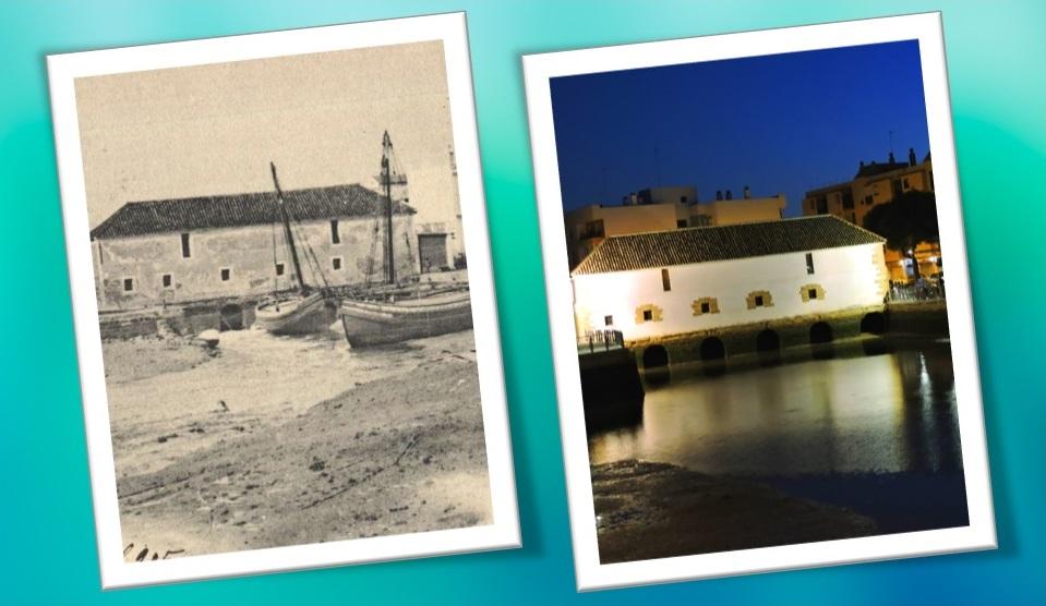 El 'ayer' y el 'hoy' de un molino tricentenario.