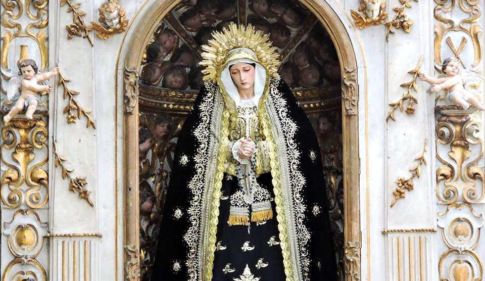 El 250 Aniversario de la Virgen de las Lágrimas es el punto de partida de esta exposición.