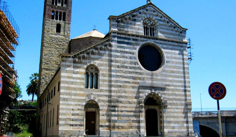 Chiesa di Santo Stefano (Gónova), donde fue bautizado Maragliano.
