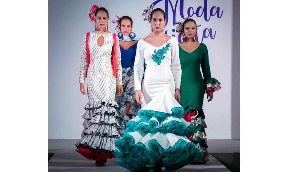 Algunos modelos diseñados por la isleña Mari Carmen Juliá.