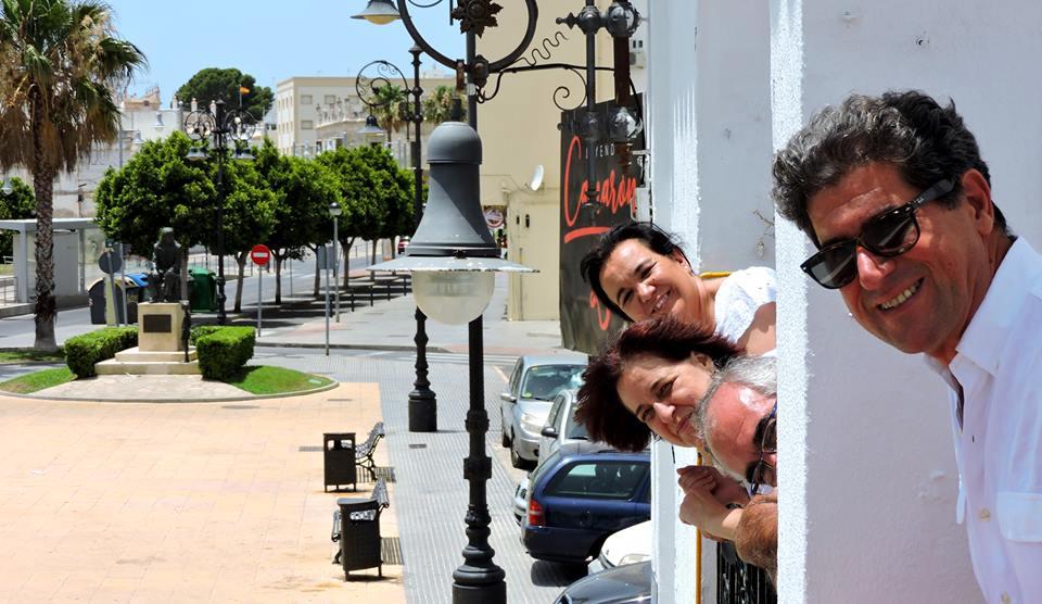 De izda. a dcha.: Carmen Orcero, Leonor Montañés, Ignacio Escuín y Antonio Díaz.