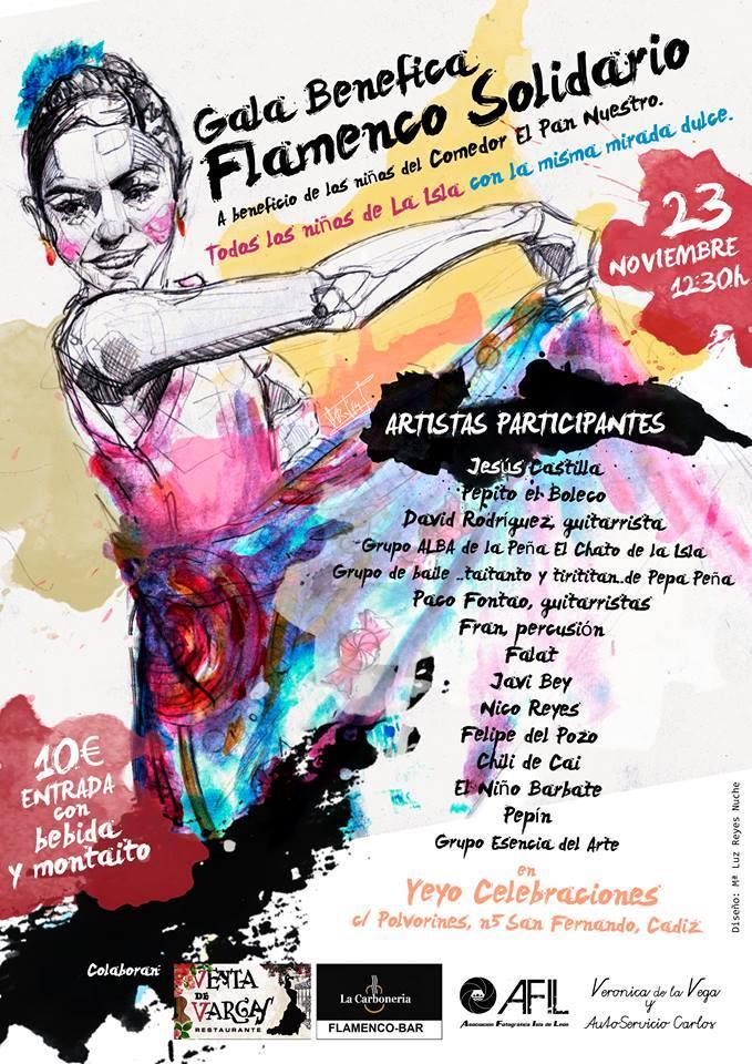 Gala benéfica 'Flamenco Solidario'.
