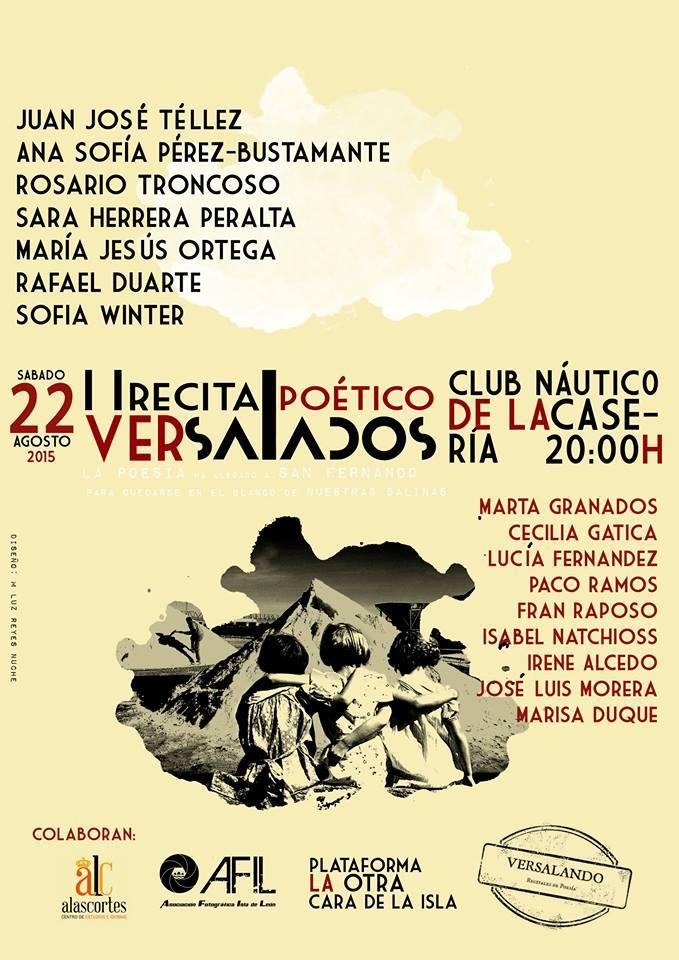 II Recital Poético 'Versalados'.