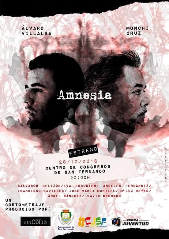 Proyección de 'Amnesia'.