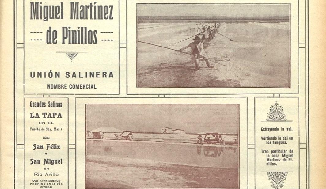 La familia Martínez de Pinillos eran la propietaria de Río Arillo a principios del siglo XX.