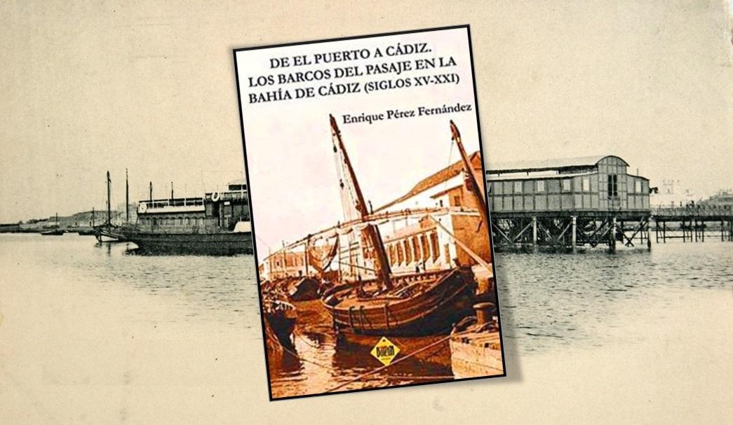 Portada del libro, editado por El Boletín de Cultura y Ocio de El Puerto de Santa María.
