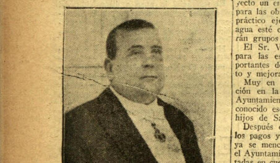Don José Vázquez Delgado, Alcalde de San Fernando.