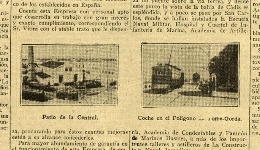 Patio de la Central / Coche en el Polígono de Torre-Gorda.