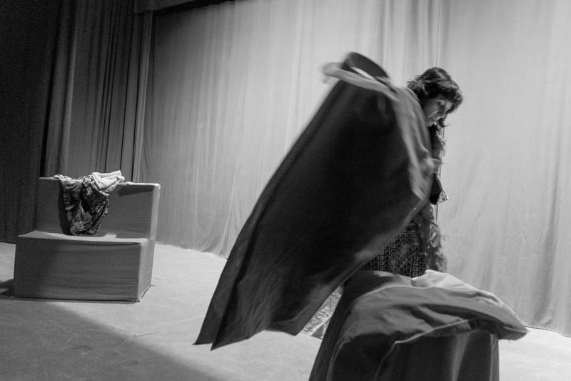 'Día de actuación. La Cabal Teatro'