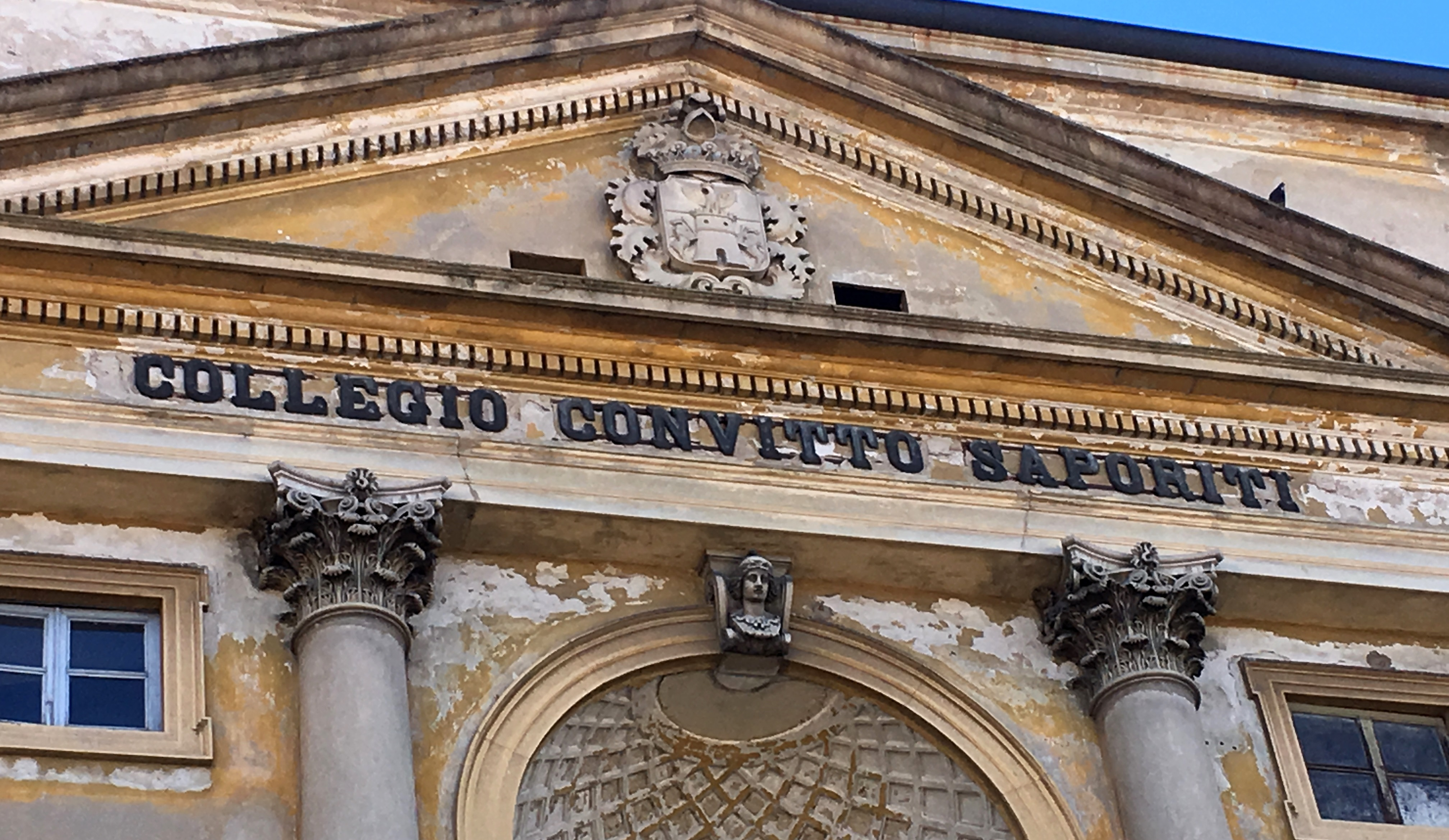 Colegio Convitto Saporiti en Vigevano, Italia.