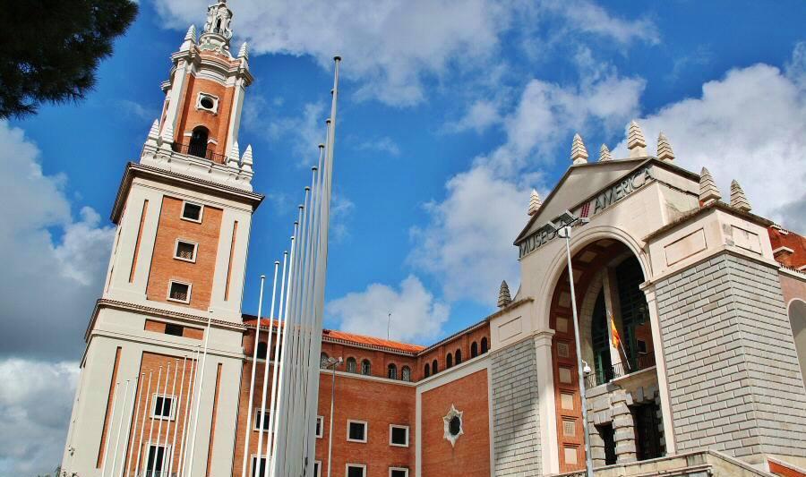 Museo de América, en Madrid. Anterior destino de la entrevistada.