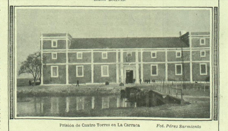 Prisión de Cuatro Torres en La Carraca. Foto: Pérez Sarmiento.