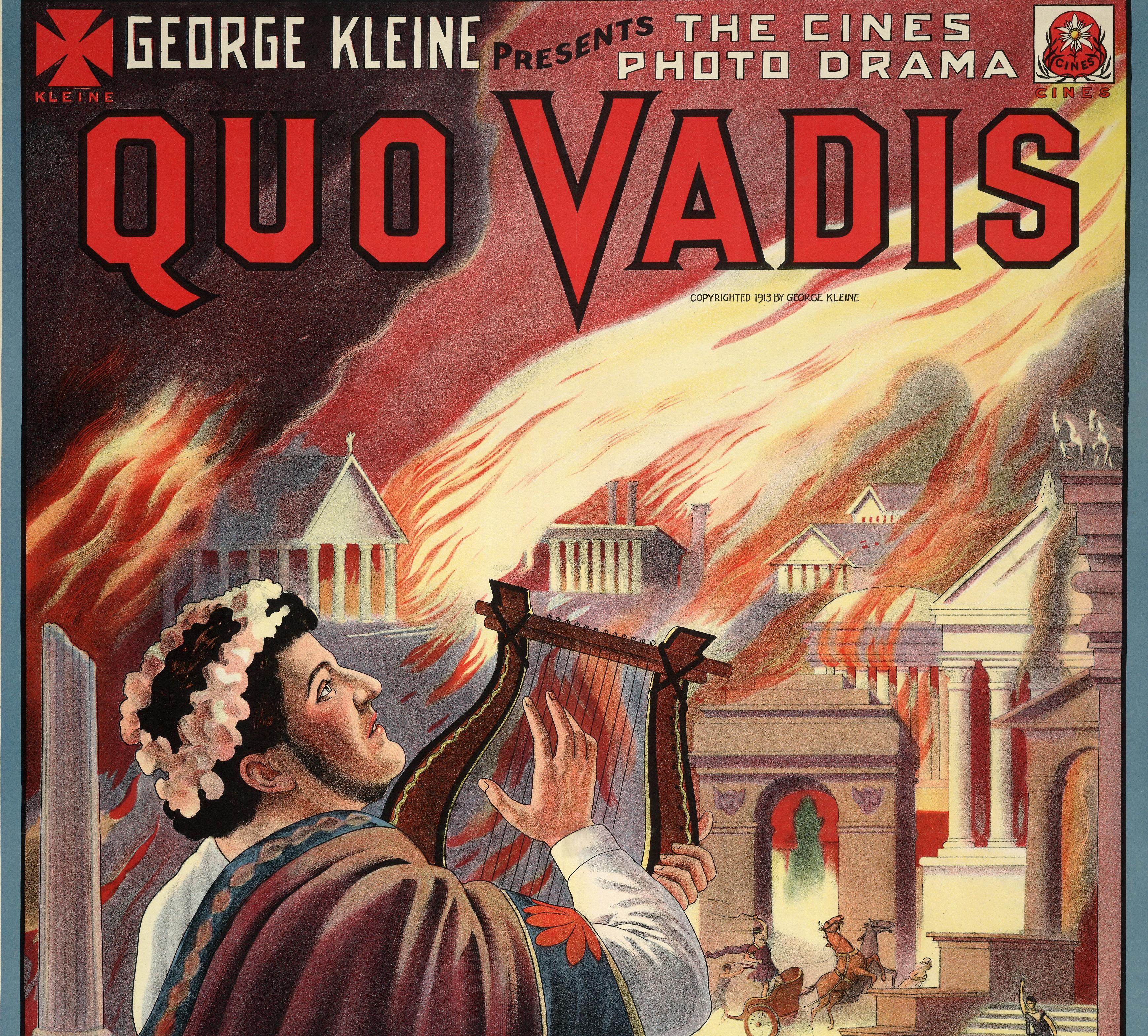 La película italiana Quo Vadis fue probablemente una de las primera superproducciones cinematográficas estrenadas en La Isla.