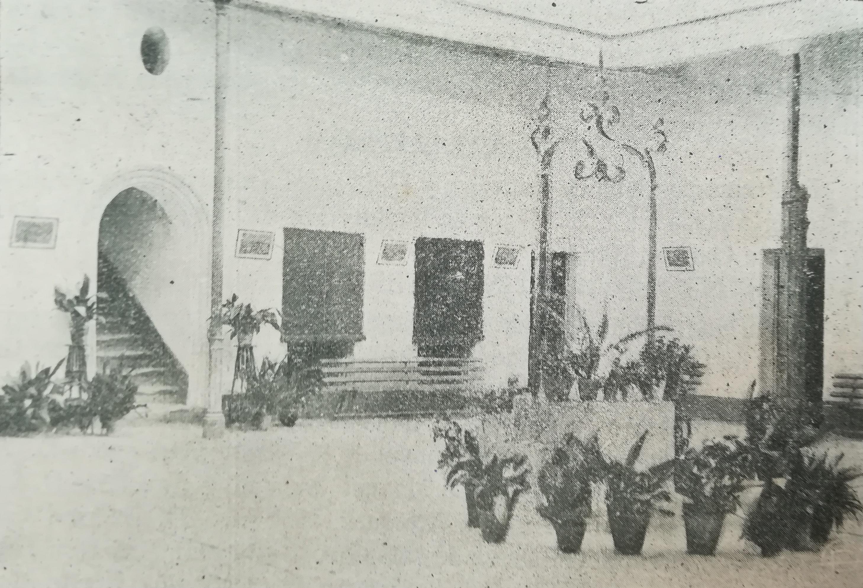 El patio del Turco en los años veinte.